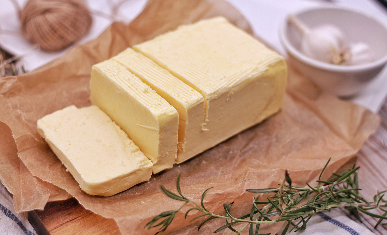 Unslated butter